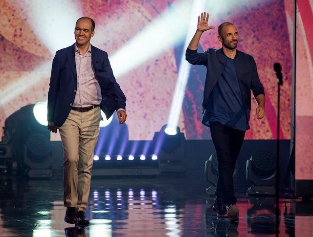 Guy Nantel et Guillaume Wagner.