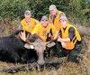 Les guides Marco et Fred ont aidé Marc-Antoine et Daniel à déjouer ce beau petit buck de la réserve faunique de Rimouski au mois d'octobre dernier.