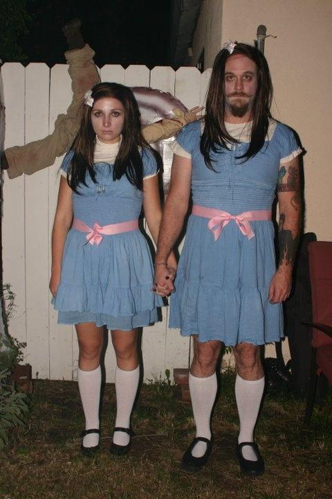deguisement halloween jumelles