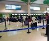 Plusieurs vols avaient été annulés ou retardés à l'aéroport de Punta Cana en République Dominicaine suite à l'approche de l'ouragan Maria.