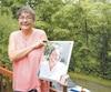 Joyce Lalonde nous raconte comment elle a surmonté le suicide de sa sœur jumelle, sur la photo, six ans après le drame.