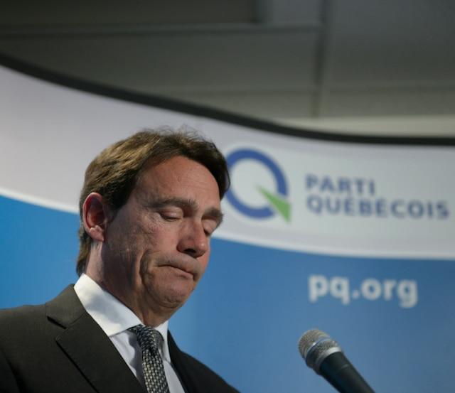 PKP démissionne de son poste de chef du PQ.