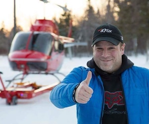 Frédérick Décoste, le pilote décédé dans l'écrasement d'hélicoptère qui a coûté la vie à Roberto «Bob» Bissonnette.