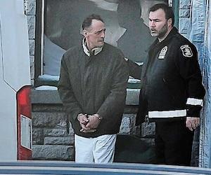 Eustachio Gallese à sa sortie du palais de justice, le 23 janvier.