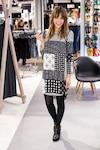 «Je suis contente d'être là aujourd'hui pour magasiner (me ruiner!)», a dit Maripier Morin, ambassadrice pour la marque.
