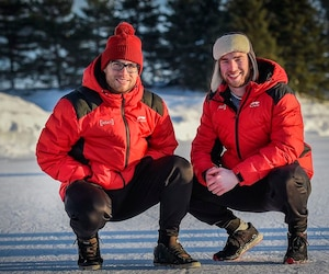 Les deux patineurs de Quebec Laurent Dubreuil et Alexandre St Jean sont qualifies pour les Jeux olympiques.