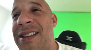 Vin Diesel en larmes dans une vidéo