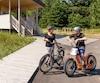 Écorécréo loue vélos et trottinettes électriques au parc national Forillon.
