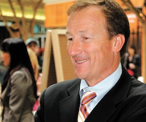 L'ancien argentier libéral Marc Bibeau aurait annoncé à un président d'une firme qu'il avait obtenu un contrat du gouvernement.