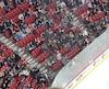 Jeudi soir, plusieurs sièges étaient inoccupés dans la section rouge.