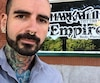 Efix Roy, propriétaire d'Empire Body Piercing à Quévec, voit d'un bon œil la mise en places de normes pour encadrer les activités de perçage et de tatouage.