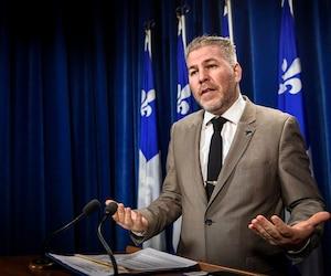 Pascal Bérubé, chef intérimaire du PQ