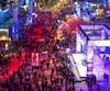 La place des Festivals, dans le Quartier des spectacles, sera une fois de plus prise d'assaut par des milliers de festivaliers, à l'occasion de la Nuit blanche.