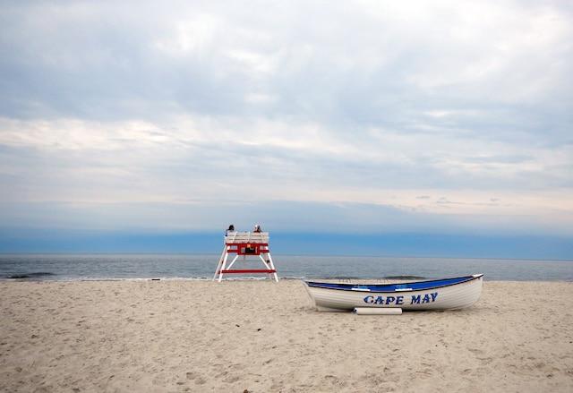 Sur la plage de Cape May, New Jersey, �tats-Unis.Juin 2016.PHOTO ANNE PELOUAS / AGENCE QMI