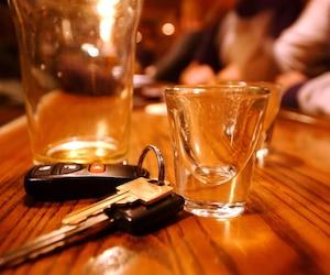 bloc conduire saoul alcool nez rouge