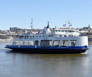 Le nombre de passagers qui ont utilisé la traverse Québec-Lévis a diminué de près de 300 000 en trois ans.