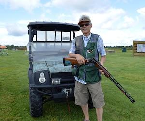 Luigi Felici, membre du Club de tir L'Acadie depuis environ 15 ans.