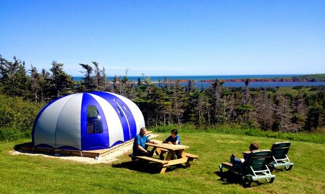 La Cosy Bubble, un endroit inusité pour dormir!