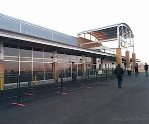 Le vaste secteur boisé, situé entre l'avenue Blaise-Pascal et le boulevard de la Chaudière, est à quelques centaines de mètres du Costco et du centre de collecte de IKEA