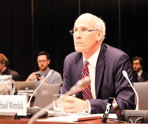 Le plus haut fonctionnaire fédéral, Michael Wernick, a témoigné jeudi devant le comité de la justice dans l'affaire de la firme d'ingénierie SNC-Lavalin.