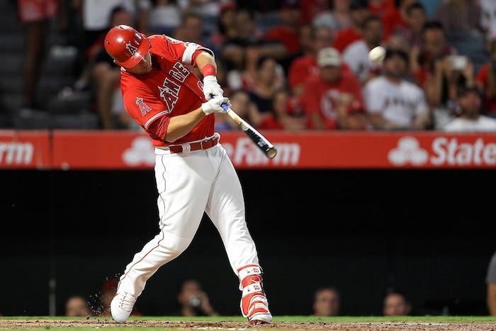 Mike Trout fait partie de la relève du baseball majeur.