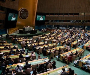 UNGA Gaza resolution and vote