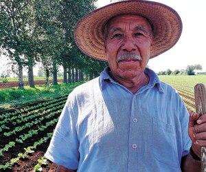 Le fermier Flavio Evelio Lopez Cavallero revient au Canada tous les étés depuis 38ans.