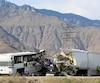 Des enquêteurs tentaient toujours d'expliquer la cause de l'accident survenu sur la route qui relie Los Angeles à Phoenix.