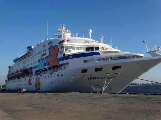 Le navire Louis Cristal.