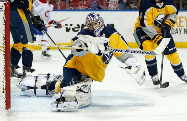 Dustin Tokarski a réussi son premier blanchissage dans la LNH pour donner la victoire au Canadien de Montréal contre les Sabres de Buffalo au compte de 2-0.