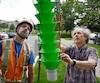Robert Lavallée, du Centre de foresterie des Laurentides de Québec, est à la tête d'une équipe qui a conçu un piège pour attirer l'agrile et le contaminer avec des spores de champignon.