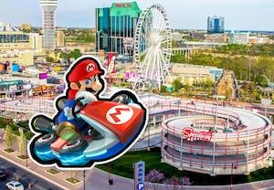 La piste au style Mario Kart est enfin ouverte!