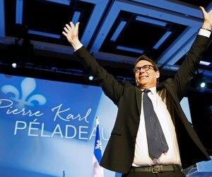 Pierre Karl Péladeau a été élu chef du Parti québécois, vendredi dernier, avec un appui de 57,58 % des membres.