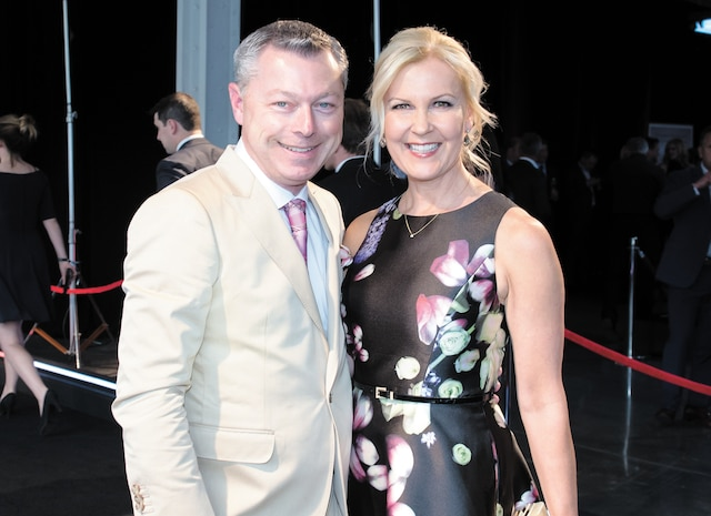 Francois Dumontier et sa femme