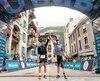 Mathieu Blanchard a franchi la ligne d'arrivée de la célèbre course de 170km en sentier au mont Blanc en un peu moins de 24 heures, établissant du même coup un record québécois.