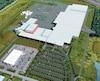 Plan de l'usine de Molson qui a dû couper des arbres sur le terrain pour faire place à la future brasserie. Elle s'est toutefois engagée à reboiser en plantant 281 arbres.