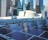 Boralex a répondu à des appels d'offres dans l'État de New York pour des projets d'énergie solaire représentant une puissance installée de 180 mégawatts. Sur la photo, une partie des panneaux solaires sur le toit du siège de l'ONU à New York.