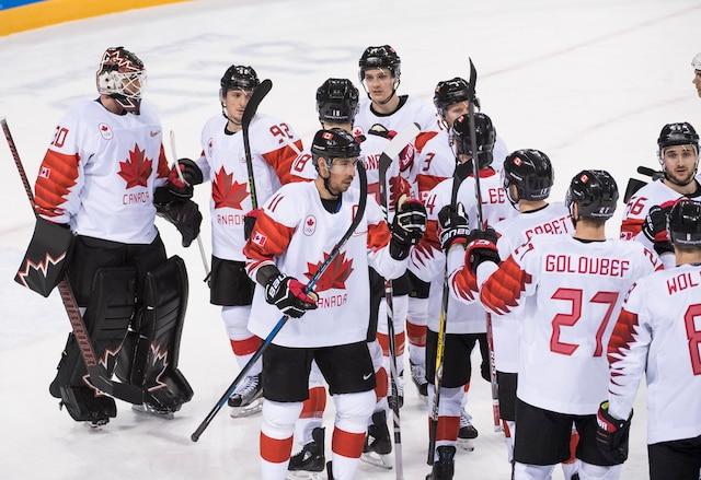 Le Canada a donné une leçon de hockey à la Suisse lors de son premier match aux Jeux de Pyeongchang, jeudi, à l'aréna Kwandong, en l'emportant 5-1.