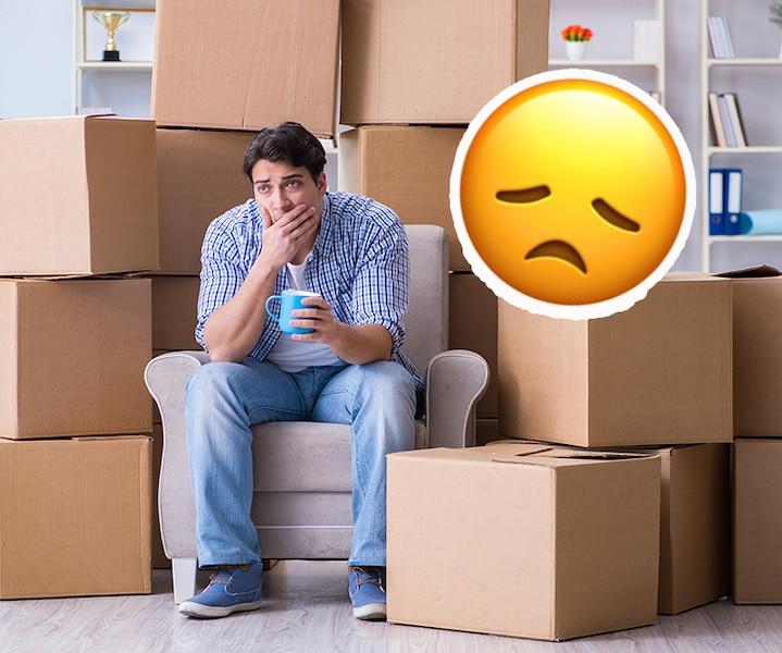 27 choses que tu ne devrais pas déménager mais que tu vas déménager quand même à ton grand désarroi