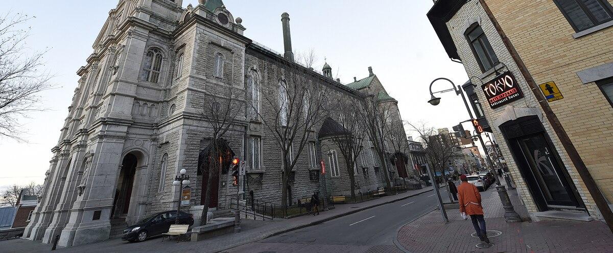 PHOTO JEAN-FRANÇOIS DESGAGNÉSNécessitant d'importantes rénovations, l'église Saint-Jean-Baptiste, à Québec, a été forcée de fermer ses portes en 2015 alors que la fabrique manquait de ressources financières pour la maintenir en vie.