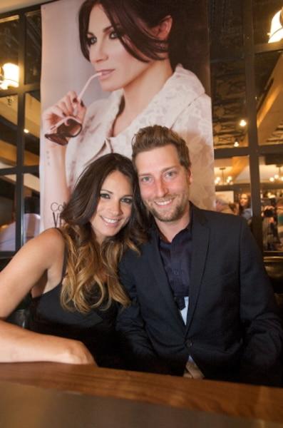 Véronique Bannon avec son conjoint, le chanteur Marc-André Niquet