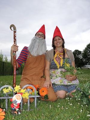 François Tétreault et Geneviève Dagenais veulent battre le record pour promouvoir le marché public d'été qui se tient les samedis et dimanches à Mascouche et Terrebonne.