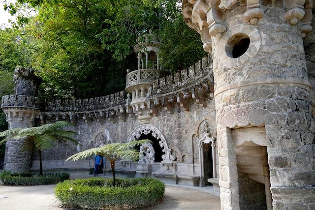 Les jardins de la Quinta da Ragaleira.
