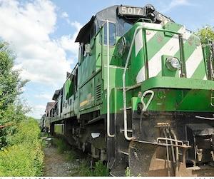 La locomotive 5017 de Tom Harding se trouvait à la tête du convoi qui a explosé à Lac-Mégantic. Des conducteurs avaient noté des bris, mais un inspecteur qui l'a vérifiée dans les heures précédant la tragédie n'a noté aucune défectuosité.
