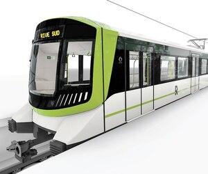 Des images de wagons du futur Réseau express métropolitain ont été dévoilées vendredi.