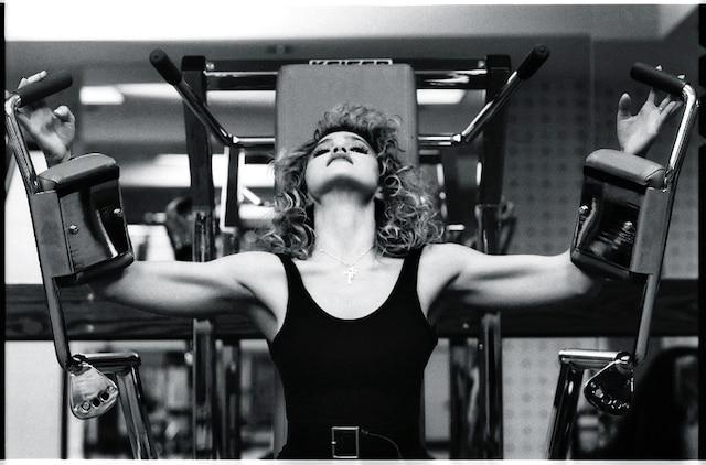 Madonna photographie en 1985 par Ken Regan. La photos apparat dans le nouveau livre All Access en librairie le 20 octobre 2011.   Madonna photographed in 1985 by Ken Regan. This picture appears in the new book All Access in stores on October 20, 2011. MARIE-JOELLE PARENT/AGENCE QMI Courtesy (c)Ken Regan/Camera5