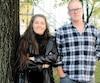 Fernande Ouellet, productrice de canards et d'oies, et Marc Séguin, artiste et réalisateur du documentaire <i>La ferme et son État</i>, font partie des instigateurs du projet du Petit abattoir, coop de solidarité.