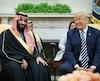 Donald Trump et le prince saoudien Mohammed ben Salmane