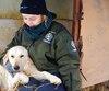 Ewa Demianowicz, de Humane Society International Canada, est allée à la rencontre des chiens dans leur élevage en Corée du Sud plus tôt au mois de décembre.
