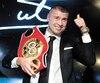 Lucian Bute a été un grand boxeur, comme le montre sa ceinture de champion du monde IBF des super-moyens.